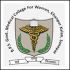 BPS Government Medical College for Women, Khanpur Kalan